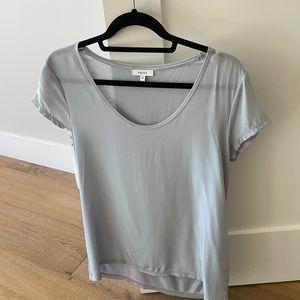 Reiss NWT Silk short sleeved top